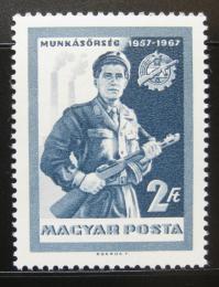 Poštovní známka Maïarsko 1967 Lidové milice Mi# 2314