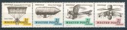 Poštovní známky Maïarsko 1967 Výstava AEROFILA Mi# 2317-20