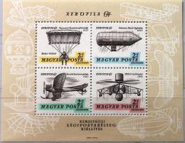 Poštovní známky Maïarsko 1967 Výstava AEROFILA Mi# Block 57