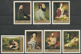 Poštovní známky Maïarsko 1967 Umìní Mi# 2330-36