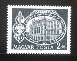 Poštovní známka Maïarsko 1967 Právnická fakulta Mi# 2364