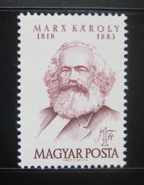 Poštovní známka Maïarsko 1968 Karel Marx Mi# 2406