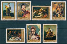 Poštovní známky Maïarsko 1968 Umìní Mi# 2409-15