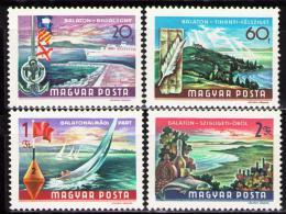 Poštovní známky Maïarsko 1968 Balatonské jezero Mi# 2417-20
