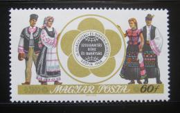Poštovní známka Maïarsko 1968 Lidové kroje Mi# 2433