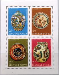 Poštovní známky Maïarsko 1968 Hrnèíøské výrobky Mi# Block 66