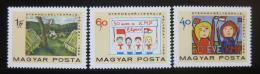 Poštovní známky Maïarsko 1968 Dìtské kresby Mi# 2460-62