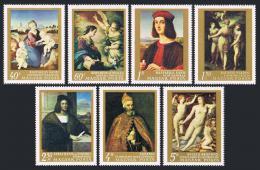 Poštovní známky Maïarsko 1968 Umìní Mi# 2465-71