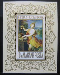 Poštovní známka Maïarsko 1969 Umìní, Fouché Mi# Block 71