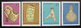 Poštovní známky Maïarsko 1969 Øezbáøské umìní Mi# 2528-31