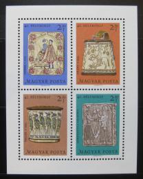 Poštovní známky Maïarsko 1969 Øezbáøské umìní Mi# Block 73