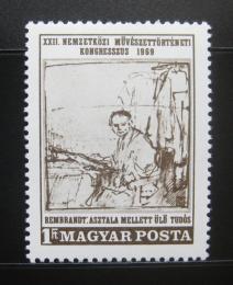 Poštovní známka Maïarsko 1969 Umìní, Rembrandt Mi# 2536