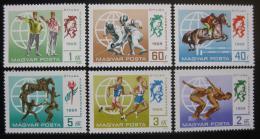 Poštovní známky Maïarsko 1969 Moderní pìtiboj Mi# 2537-42
