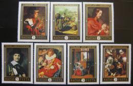 Poštovní známky Maïarsko 1969 Umìní Mi# 2555-61