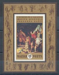 Poštovní známka Maïarsko 1970 Umìní Mi# Block 74