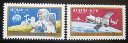 Poštovní známky Maïarsko 1970 Prùzkum vesmíru Mi# 2575-76