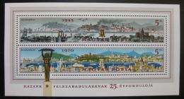 Poštovní známky Maïarsko 1970 Budapeš� Mi# Block 75
