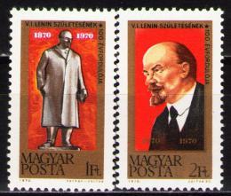 Poštovní známky Maïarsko 1970 V. I. Lenin Mi# 2581-82