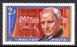 Poštovní známka Maïarsko 1970 Franz Lehár, skladatel Mi# 2583