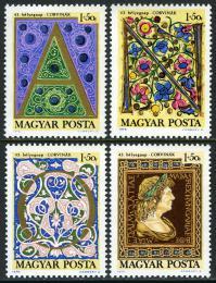 Poštovní známky Maïarsko 1970 Den známek Mi# 2603-06