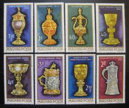 Poštovní známky Maïarsko 1970 Zlaté umìlecké pøedmìty Mi# 2625-32