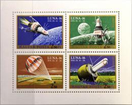 Poštovní známky Maïarsko 1971 Prùzkum vesmíru Mi# 2642-45