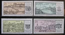 Poštovní známky Maïarsko 1971 Budapeš� Mi# 2646-49