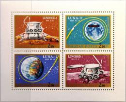 Poštovní známky Maïarsko 1971 Prùzkum vesmíru Mi# 2654-57