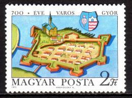 Poštovní známka Maïarsko 1971 Györ, 700. výroèí Mi# 2660