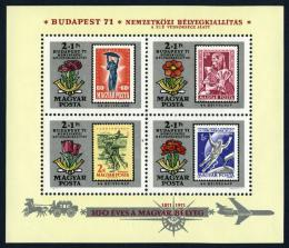 Poštovní známky Maïarsko 1971 Den známek Mi# Block 83