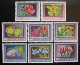 Poštovní známky Maïarsko 1971 Kvìtiny Mi# 2695-2702
