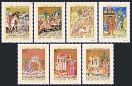 Poštovní známky Maïarsko 1971 Miniatury Mi# 2711-17
