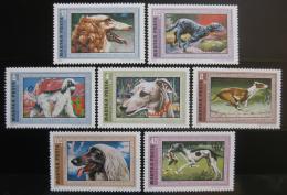 Poštovní známky Maïarsko 1972 Psi Mi# 2742-48