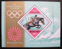 Poštovní známka Maïarsko 1972 LOH Mnichov Mi# Block 91