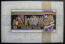 Poštovní známka Maïarsko 1972 Rytíøi Mi# Block 92