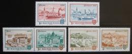 Poštovní známky Maïarsko 1972 Budapeš� Mi# 2805-10