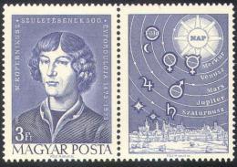 Poštovní známky Maďarsko 1973 Mikoláš Kopernik Mi# 2845  - zvětšit obrázek