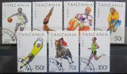 Poštovní známky Tanzánie 1993 Sport Mi# 1467-73