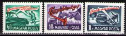 Poštovní známky Maïarsko 1973 Bezpeènost silnièního provozu Mi# 2894-96