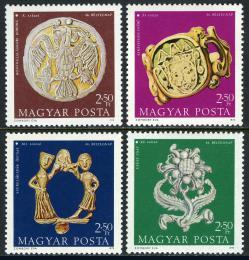 Poštovní známky Maïarsko 1973 Den známek Mi# 2898-2901