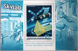 Poštovní známka Maïarsko 1973 Vesmírná stanice Mi# Block 101