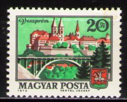 Poštovní známka Maïarsko 1973 Veszprém Mi# 2916