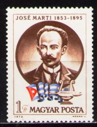 Poštovní známka Maïarsko 1973 José Marti Mi# 2917