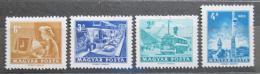 Poštovní známky Maïarsko 1972 Pošta a telekomunikace Mi# 2834-37
