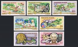 Poštovní známky Maïarsko 1975 Albert Schweitzer Mi# 3014-20