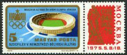 Poštovní známka Maïarsko 1975 Výstava SOZFILEX Mi# 3042