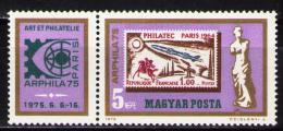 Poštovní známky Maïarsko 1975 Výstava ARPHILA Mi# 3043