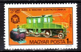 Poštovní známka Maïarsko 1975 Lokomotiva Mi# 3044