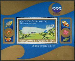 Poštovní známka Maïarsko 1975 Výstava EXPO Mi# Block 112