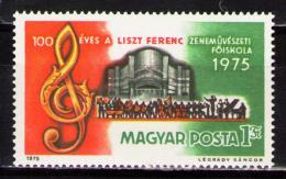 Poštovní známka Maïarsko 1975 Hudební škola Mi# 3080